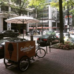 Deliveries and vending done sustainably by Main Street Mobility