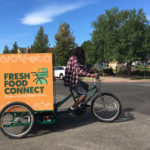 Delivery Trike for food distribution with Fresh Food Connect in Colorado