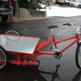 Vehicle manufactured by Main Street Mobility
