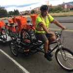 Pedal Truck in Oregon for bike share re-balancing