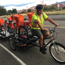 Portland Bike sharing