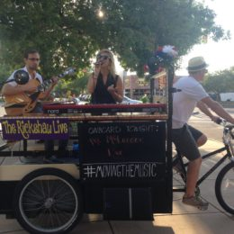 Music on wheels. Pedal power! www.pedaltruck.com #movingthemusic